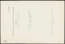 International Studies Conference. Tenth Session Paris, June 28th - July 3rd, 1937. Report on the ...