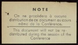"International Conference on Higher Education, Paris, July 26-28, 1937 - ""The Struggle Agains..."