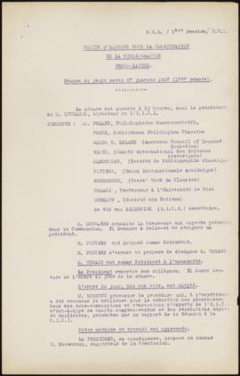 Committee on Intellectual Co-Operation. Sub-Committee on Bibliography. Bibliography of Greco-Roma...