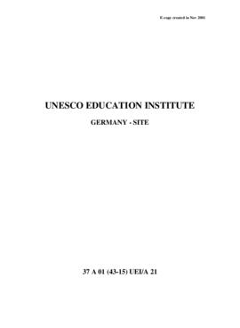 UNESCO Education Institutes – Germany – Site