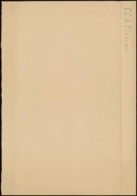 Réunion du Bureau de la Commission Internationale des Arts Populaires (1° Avril 1932) Liste des M...